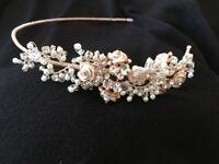 UNUSED - bridal hairpiece