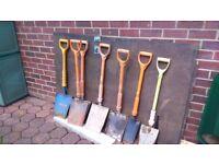 Asdortment of insulated.shovels