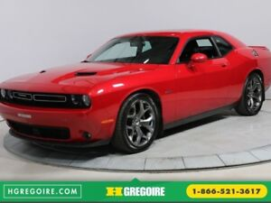 2015 Dodge Challenger R/T A/C TOIT CUIR BLUETOOTH MAGS