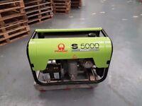 PRAMAC S5000 4.07KW Petrol Generator