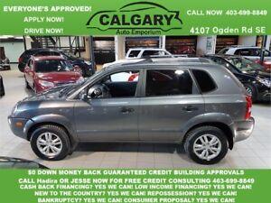 2009 Hyundai Tucson GL *$99 DOWN 2 PAYSTUB GURANTEED APPROVALS*