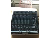 Mixing Desk for band PA Alto Live 1640 16 Channel. Like new, only used once.