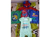Baby boy clothes 9-12mths