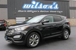 2013 Hyundai Santa Fe Sport LIMITED AWD! LEATHER! NAVIGATION! PA