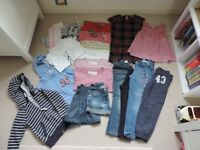 Age 6 girl's clothes bundle