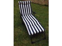 New comfortable Sun cushion lounger chair
