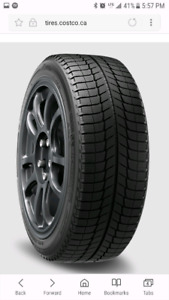 Michelin X Ice 3 winter tires 15""