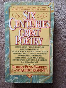 """""""Six Centuries of Great Poetry"""" collection"""