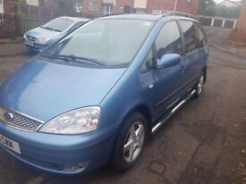2004 FORD GALAXY (PSVD TAXI 6 SEATER)