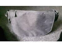 Dark grey changing bag