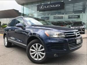 2014 Volkswagen Touareg Luxury Sport AWD Navi Backup Cam Leather