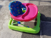 Plastic Baby Walker - fully functional in very good condition