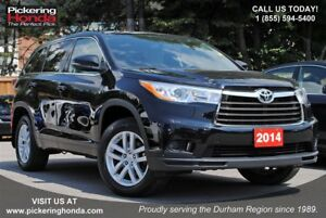 2014 Toyota Highlander LE BLUETOOTH REAR CAMERA PROTECTION PACKA