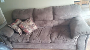 Like New Microfibre Couch