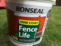 Ronseal fence paint