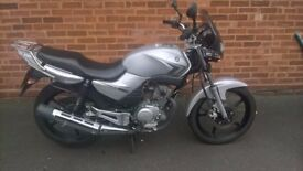 Yamaha YBR125. Low mileage.
