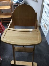 East Coast High Chair. FREE Hampton Hill Collection only .