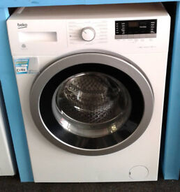 O008 white beko 8kg 1400spin A+++ rated washing machine comes with warranty can be delivered