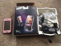 Samsung GT-S5230, pink