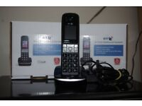BT8500 Advanced call blocker, digital cordless phone with answer machine (4 handsets)