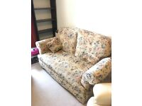 Two Seater Sofa (Converts to Single Bed)