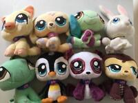 Littlest Pet Shop soft toy bundle