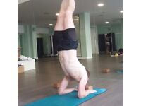 Yoga instructor in central London.