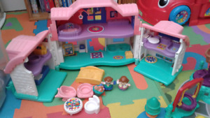 Fisher Price Little People house and playground sets
