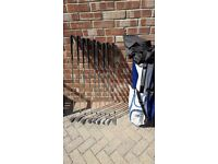 macgregor golf glubs & bag