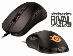 Steel series rival optical gaming mouse