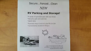 NEW parking for RV's and Campers