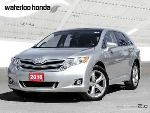 2016 Toyota Venza XLE...One Owner. AWD, Navigation and More!