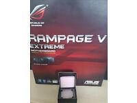 Intel i7 5960x OEM & Asus Rampage V Extreme motherboard