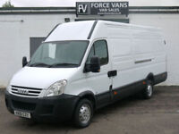 IVECO DAILY 35S12 2.3HPI LONG WHEEL BASE HIGH TOP PANEL DELIVERY LOGISTICS VAN