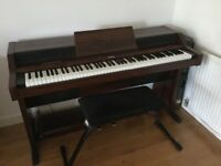 Roland 5500 electric piano with stool