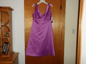 2 brand new bridesmaids dresses: 1 size 10 and 1 size 12