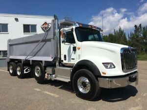 2018 International HX615 6X4, New Gravel Truck