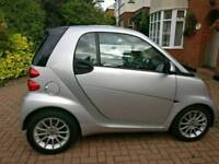 Smart car 451 SILVER PASSION FORTWO LOW MILEAGE 20600 YEAR REG 2012 GREAT CONDITION, VIEWING A MUST