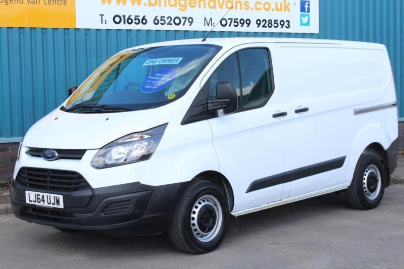 2014 FORD TRANSIT CUSTOM 290 100 BHP L1 H1 SWB DIESEL 6 SPEED MANUAL VAN, 1 OWNE
