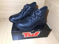 Chukka Safety Work Boots Leather Steel Toe Cap Men Size 10 Brand New Never Been Used