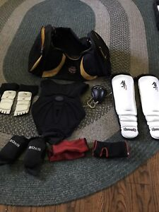 Sparring and Training gear
