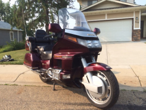 HONDA GOLDWING GAS AND GO