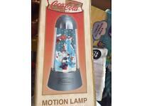 Coca Cola motion lamp