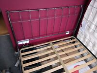 Metal Frame Double Bed easy assembly (mattress not included) buyer collects