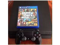 Sony PlayStation 4 (PS4) 500gb Console + GTA 5 bundle