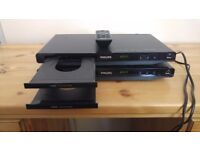 2 x Phillips dvd player.