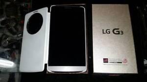 LG G3 Unlocked Cellphone + Otter Case Chatr