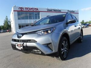 2017 Toyota RAV4 LE AWD TOYOTA CERTIFIED PRE OWNED