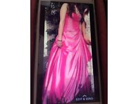 Dress for a bridesmaid or prom