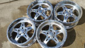 "20"" BMF aluminum wheels DODGE RAM 1500 FORD F150"